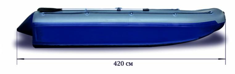 Надувной катамаран «ФЛАГМАН - 420К»