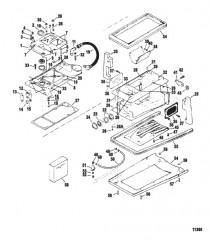 Схема Компоненты корпуса привода (Резьбовой привод)