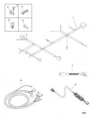 Схема Электропроводка и зажимы