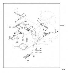 Схема Комплект крепления ДУ