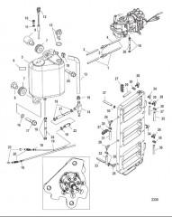 Схема Система смазки