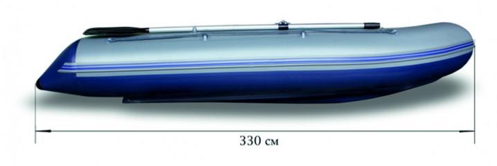 Моторная надувная лодка «ФЛАГМАН - 330U» Изображение 7