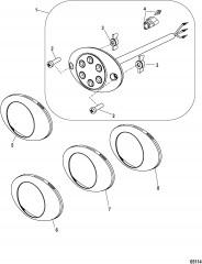 Moving Prop Alert Light System-Oval Cowl