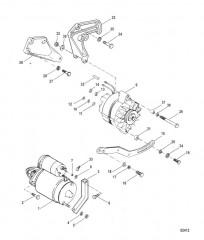 Схема Стартер и генератор