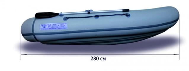 Гребная надувная лодка «ФЛАГМАН - 280NТ» Изображение 6