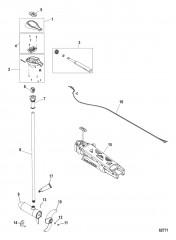 Двигатель для тралового лова в сборе Ручное управление, регулируемая скорость