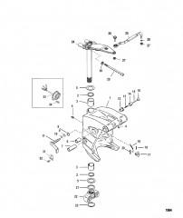 Шарнирный кронштейн и рычаг рулевого механизма (Короткий)