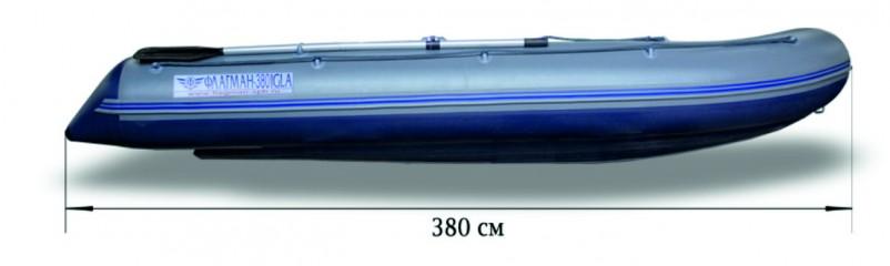 Моторная надувная лодка «ФЛАГМАН - 380IGLA» Изображение 6