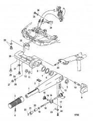 Рукоятка рулевого механизма