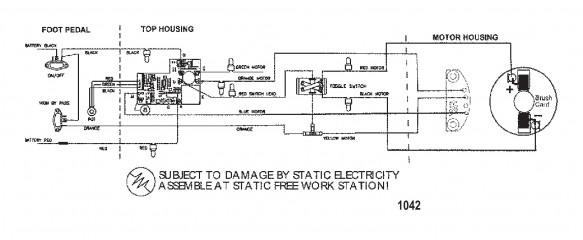 Схема электрических подключений (Модель 660V) (24 В)