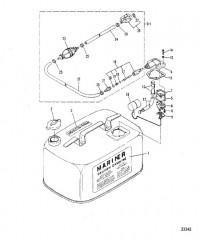 Схема ТОПЛИВНЫЙ БАК (S-675-00451/L-675-32876 И ВЫШЕ)