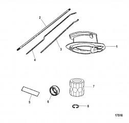 Схема Комплект удлинителя Корпус ведущего вала (12426A7 / A8)