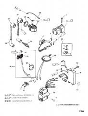 Схема Компоненты системы зажигания/электрические компоненты