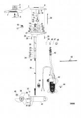 Схема Двигатель для тралового лова в сборе (TR109FB / TR109FBD) (36 В)