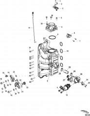 Компоненты встроенного блока воздуха/топлива