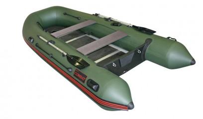 Надувная ПВХ лодка «Комбат CMB-360» (темно-серая) Изображение 4