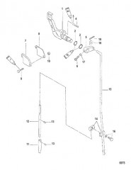 Тяга механизма переключения передач (3.3 л.с.)