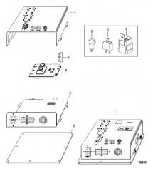 Электрические компоненты Интерфейсная панель судна (VIP) (48 контакта)