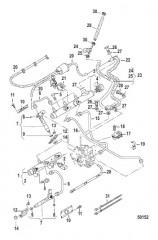 Схема INJECTOR/PRESSURE PIPES