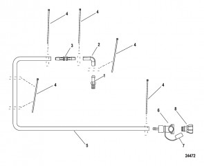 Комплект прибрежной промывки Подвесные двигатели
