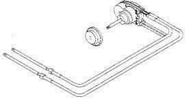 Двойной трос рулевого механизма с вращательным движением NFB 4.2