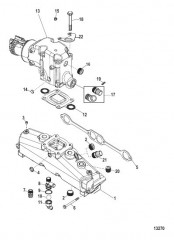 Схема Exhaust Manifold and Elbow
