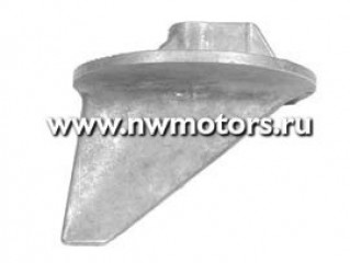 Анодная магниевая пластина для двигателей Bravo III с 2 противовентиляционными пластинами
