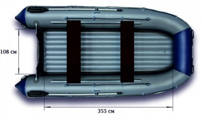 Надувной катамаран «ФЛАГМАН - 460К»