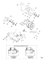 Схема Генератор (MANDO) и стартер