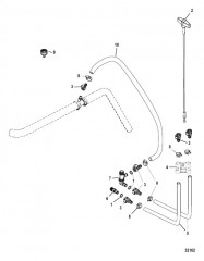 Схема Сливная система