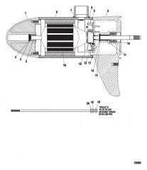 Схема Нижний блок в сборе (46# – с регулировкой скорости до 5) (M899702T)