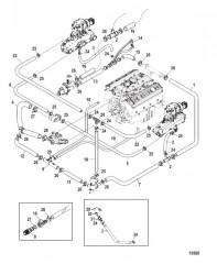 Схема Стандартная система охлаждения