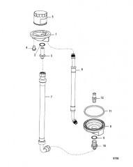 Схема Комплект выносного масляного фильтра (861480A 1)