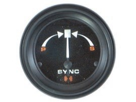 Синхронизатор сдвоенного двигателя International II