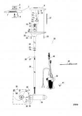 Двигатель для тралового лова в сборе (TR109LFBD) (36 В)