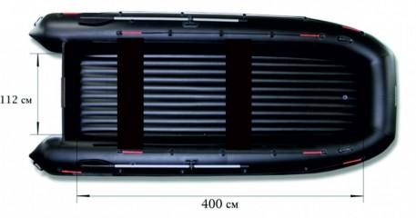 Моторная надувная лодка «ФЛАГМАН - 520»