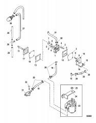 Схема Топливный насос Вручную