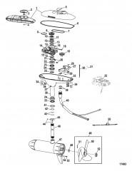 Двигатель для тралового лова в сборе (Модель DS109FB) (36 В)