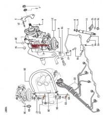 Схема Впрыск топлива (Все механические двигатели)