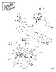 Схема Система охлаждения Компоненты для пресной воды