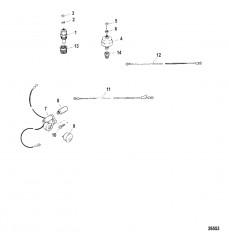 Схема Звуковая система оповещения