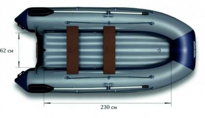 Моторная надувная лодка «ФЛАГМАН - 330U»