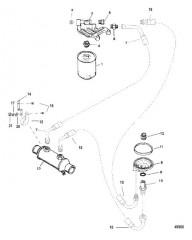 Схема Масляный фильтр и переходник