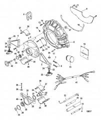 Схема Комплект удлинителя ведущего вала (98634A13)