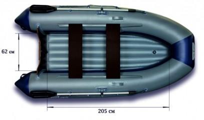 Моторная надувная лодка «ФЛАГМАН - 300L»