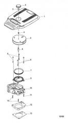 Схема Корпус дроссельной заслонки Цифровое управление газом и реверсом