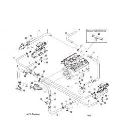 Стандартная система охлаждения (7-точечный слив)