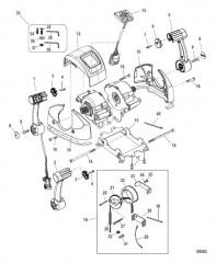 Дистанционное управление – DTS Сдвоенная рукоятка/консоль с сенсорной панелью со стрелками