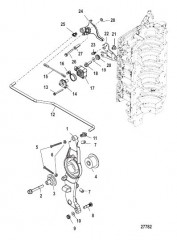 Схема Тяга газа