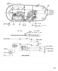 Схема электрических подключений (Модель 767P) (24 В)